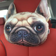 30-22cm-Creative-Cartoon-dog-Car-headrest-neck-pillow-car-cushion-PP-cotton-core-and-Active-2