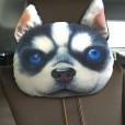 30-22cm-Creative-Cartoon-dog-Car-headrest-neck-pillow-car-cushion-PP-cotton-core-and-Active-4