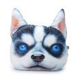 3D Dog Throw Pillow