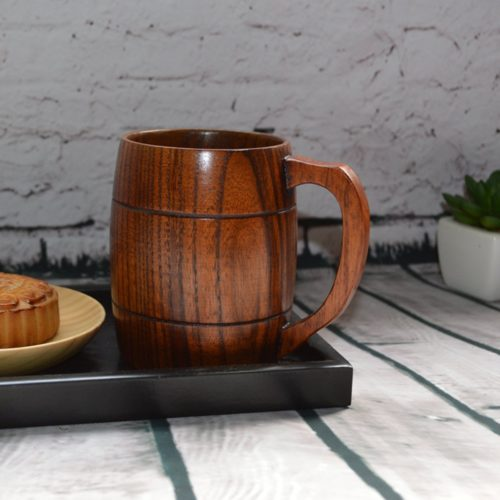 400ml Classical Wooden Beer Cup