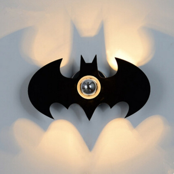 Batman shadow wall lamp seekfancy batman shadow wall lamp home aloadofball Image collections