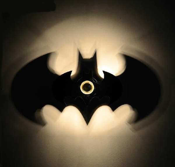 Batman shadow wall lamp seekfancy batman shadow wall lamp home aloadofball Choice Image