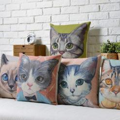 Cat-Throw-Pillow-Cases