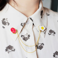 Cute Collar Brooches
