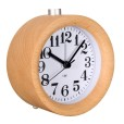 Beech Wood Alarm Clock (3)