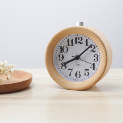 Beech Wood Alarm Clock (6)