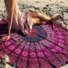 Bohemian Style Thin Chiffon Cloth-19