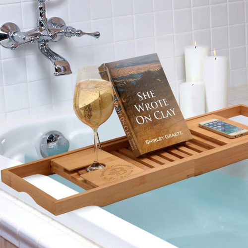 Bamboo-Bathtub-Caddy