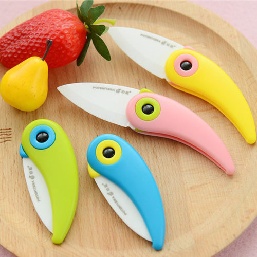Bird Folding Mini Ceramic Knife