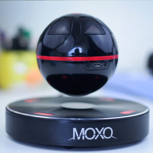 MOXO X-1 Portable Wireless Bluetooth Floating Levitating Maglev Speaker