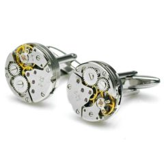 Steampunk Watch Mechanism Cufflinks