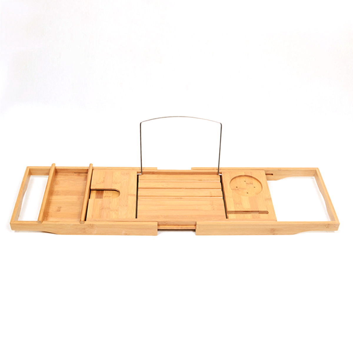 Bamboo Bathtub Caddy | SeekFancy.com