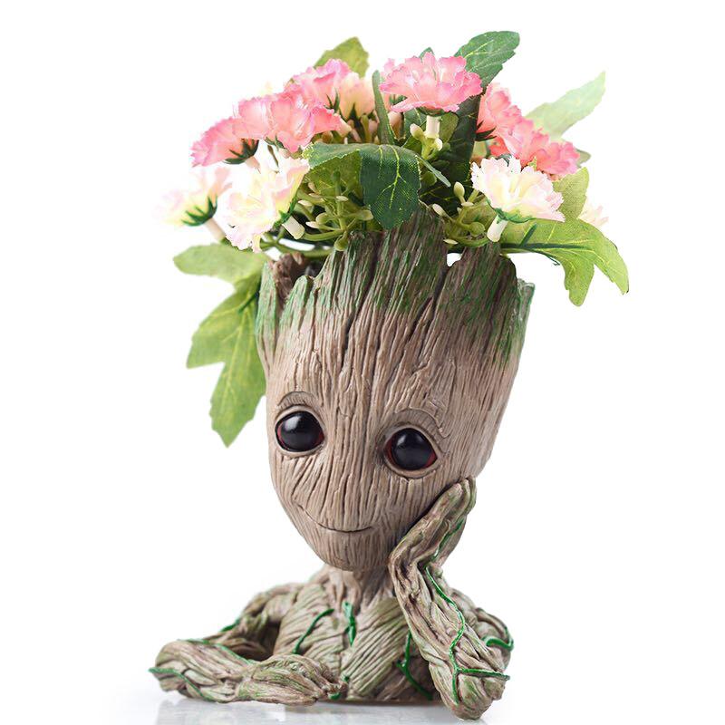 Garden Baby Groot Flower Pot Vase Pen Pot Seekfancy Com